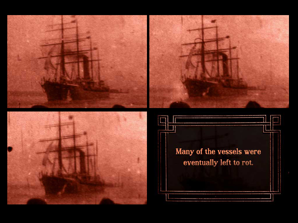 Lulu Sweet: A Gold Rush Tale in 8 Acts, App, Compositional screen shot from Act 8