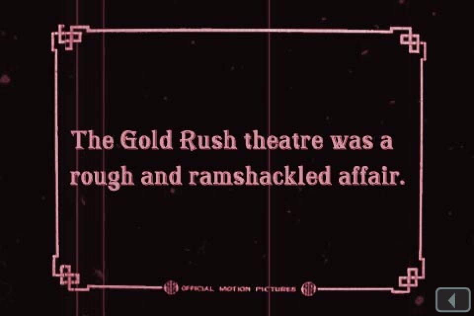 Lulu Sweet: A Gold Rush Tale in 8 Acts, App, Screen Shot from Act 6