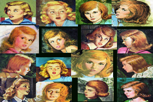 What we see when we close our eyes at night, The Nancy Drew Research Institute