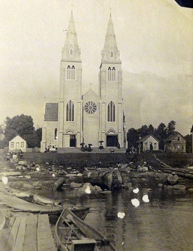 St. Paul's Catholic Church, North Vancouver, Research Image