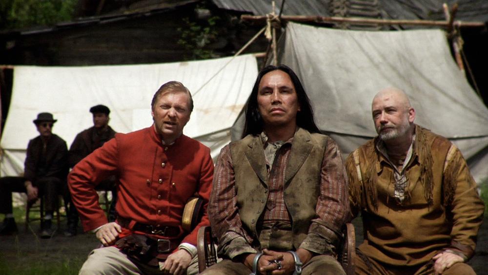 Stan Douglas, Klatsassin, Still from Video