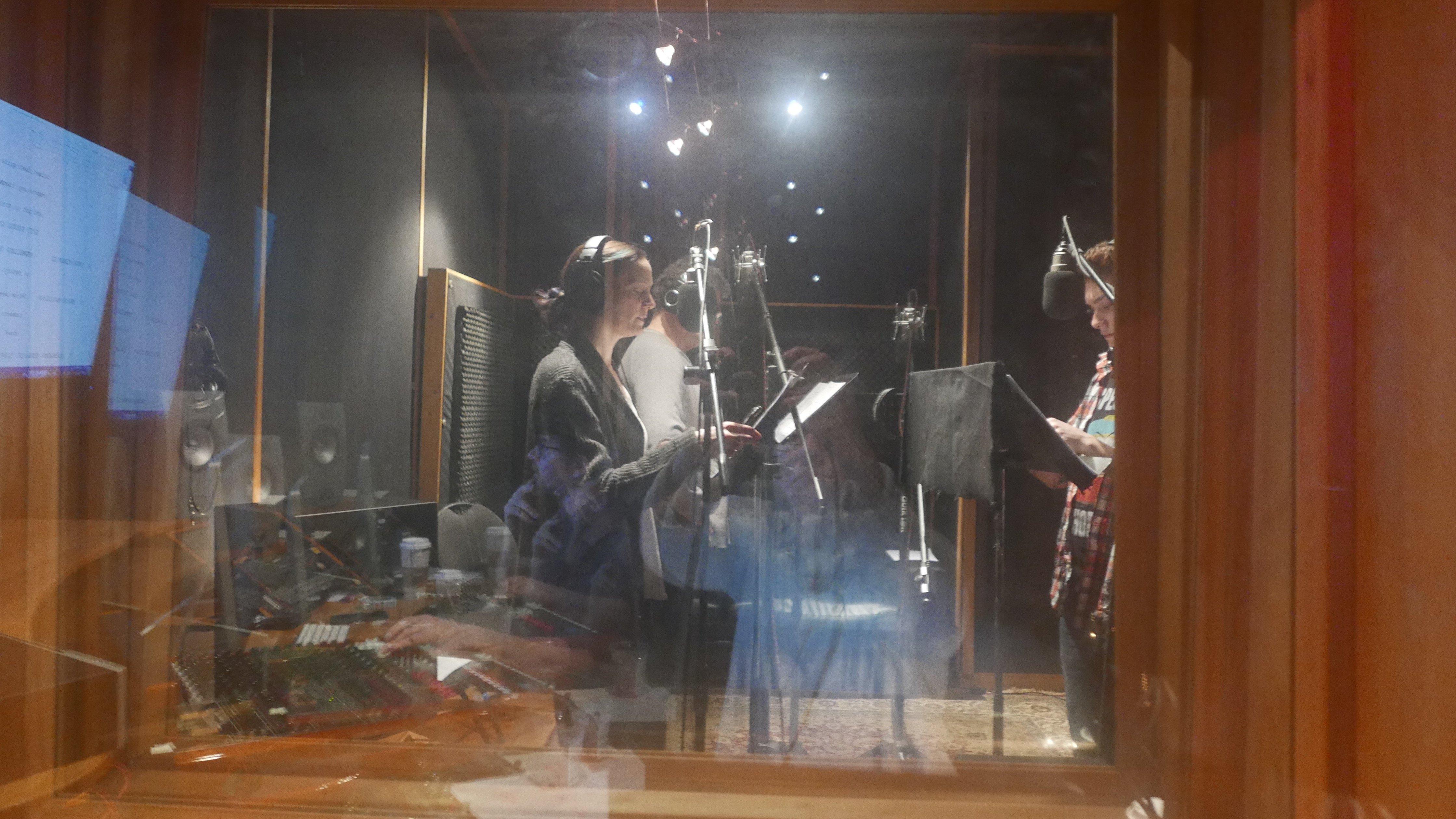 The Dark Air, Recording Studio Image, February 2017.