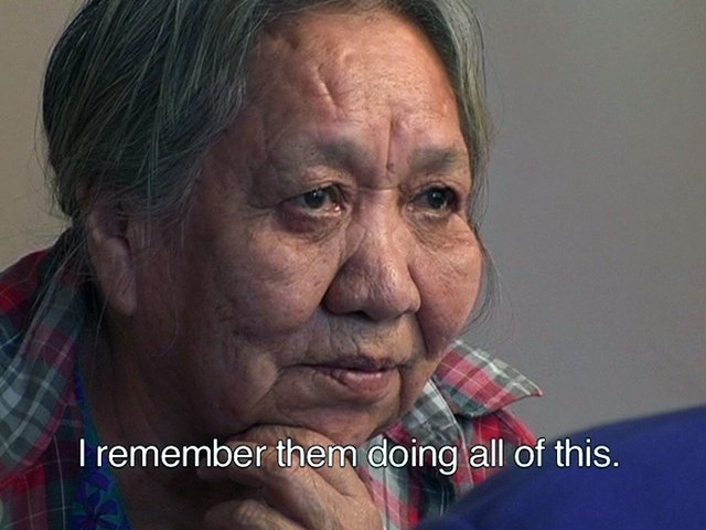 Cecilia Paul, still from video, Elders' Stories