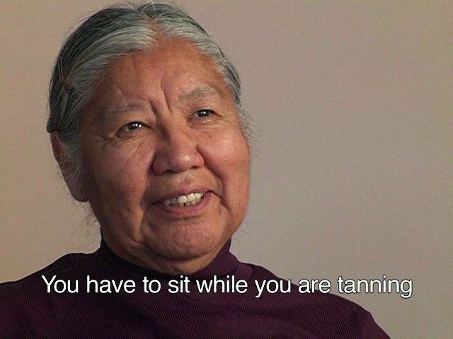 Rose Cassam, still from video, Elders' Stories
