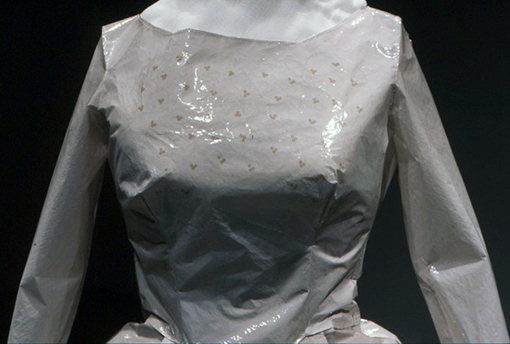 (Ad)dress (detail), Stripped Photographic Emulsion, Life-sized, 2003