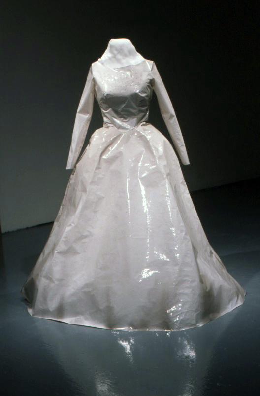 (Ad)dress, Stripped Photographic Emulsion, Life-sized, 2003