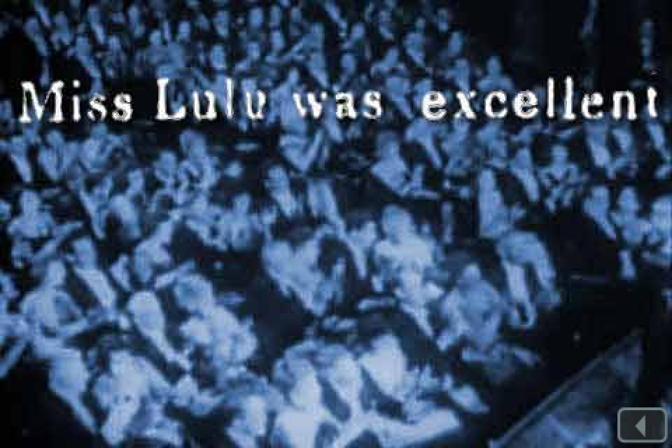 Lulu Sweet: A Gold Rush Tale in 8 Acts, App, Screen Shot from Act 5