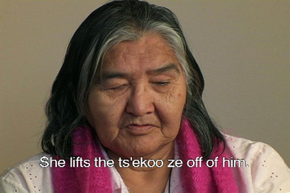 Amelia Cupples, Still from video, Elders' Stories
