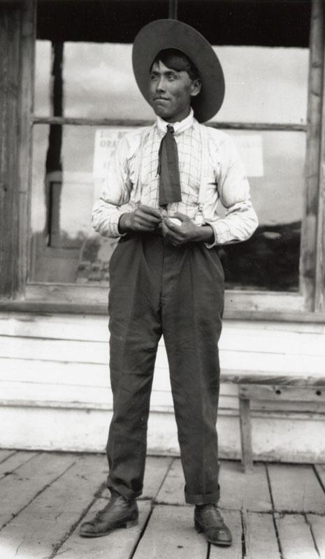 Moffat Harris, Photograph by C.D. Hoy, c.1910, Barkerville Historic Town P1671