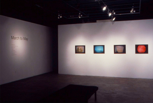 March To May, Installation View, Helen Pitt Gallery