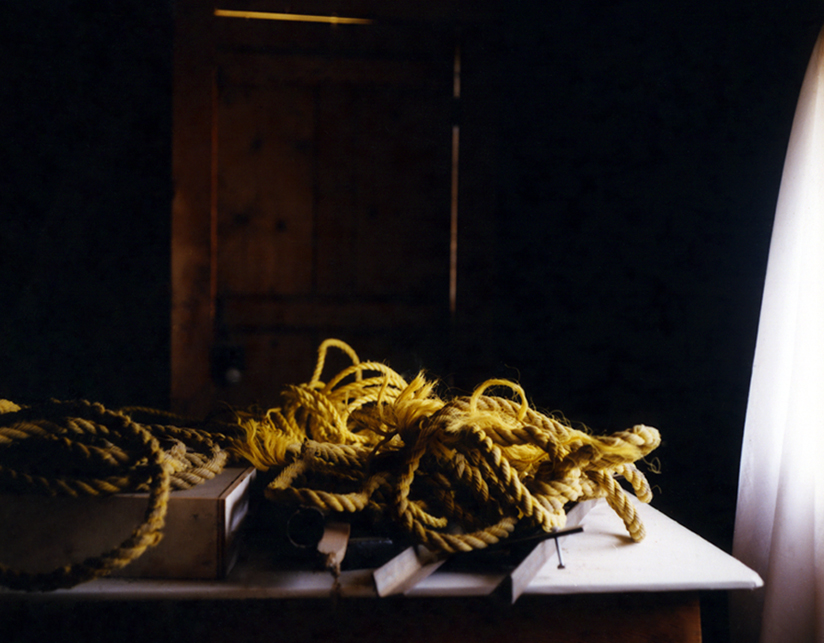 Coiled Rope, from the series Angle of Incidence, Digital c-print, 30 x 40 inches, 2015