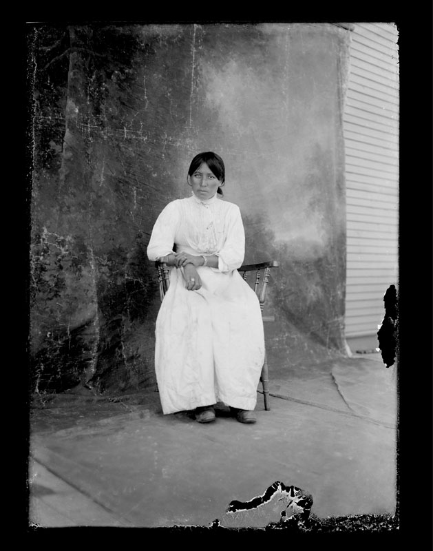 Unknown, Portrait by C.S. WIng, c. 1910, Quesnel and District Museum and Archives #P2004_1_32