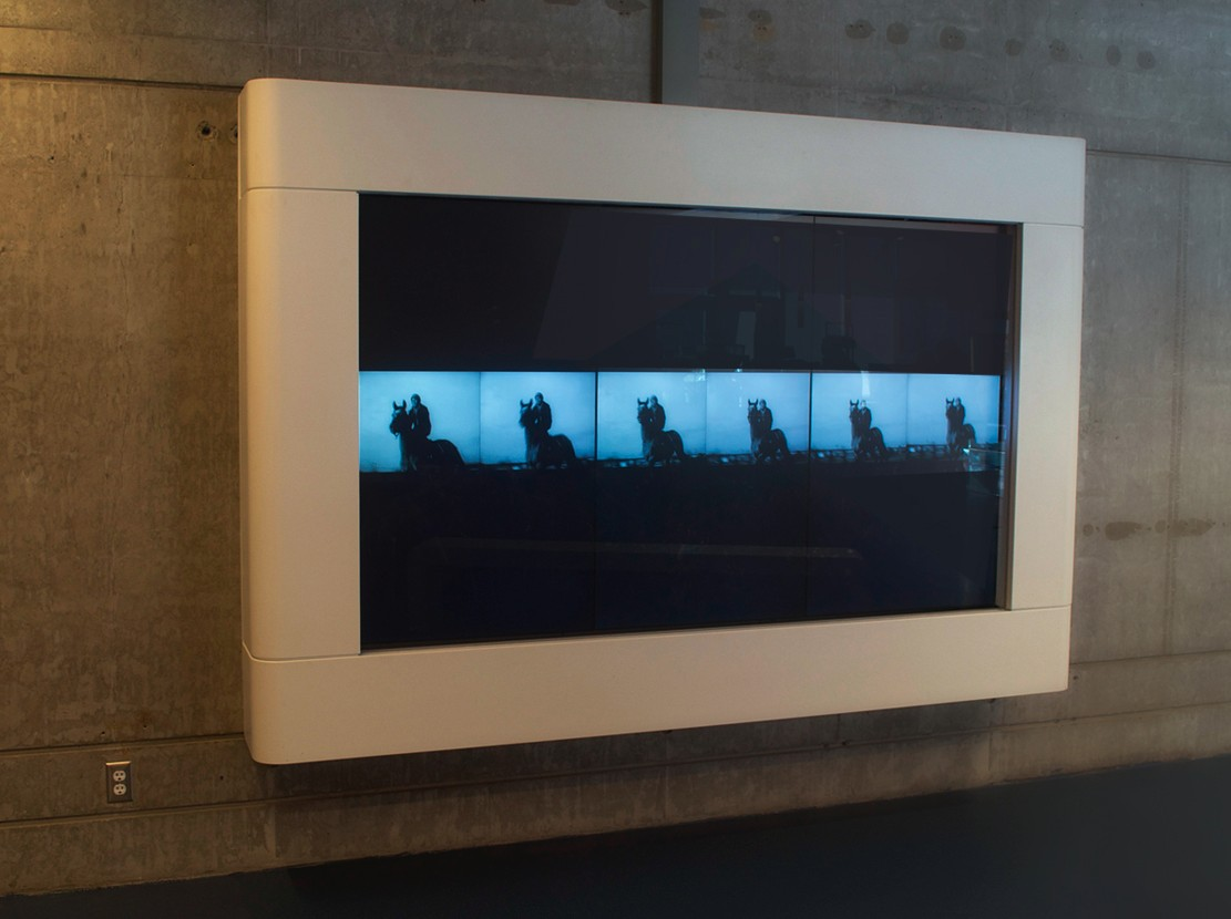 For #1 Island, from 17 Films for 17 Islands, Installation View, Richmond Olympic Oval