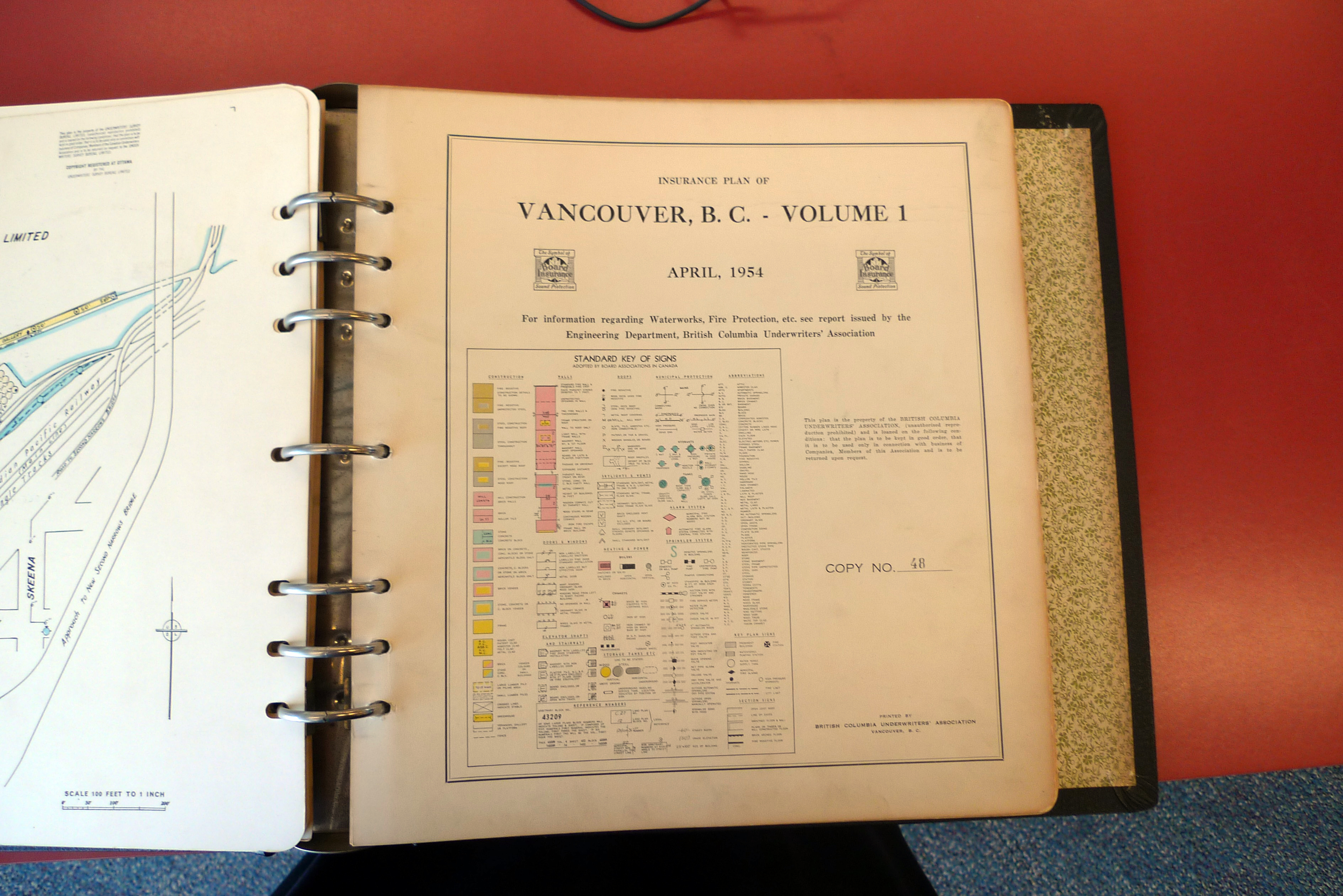 Fire Insurance Map of Vancouver, City of Vancouver Archives.