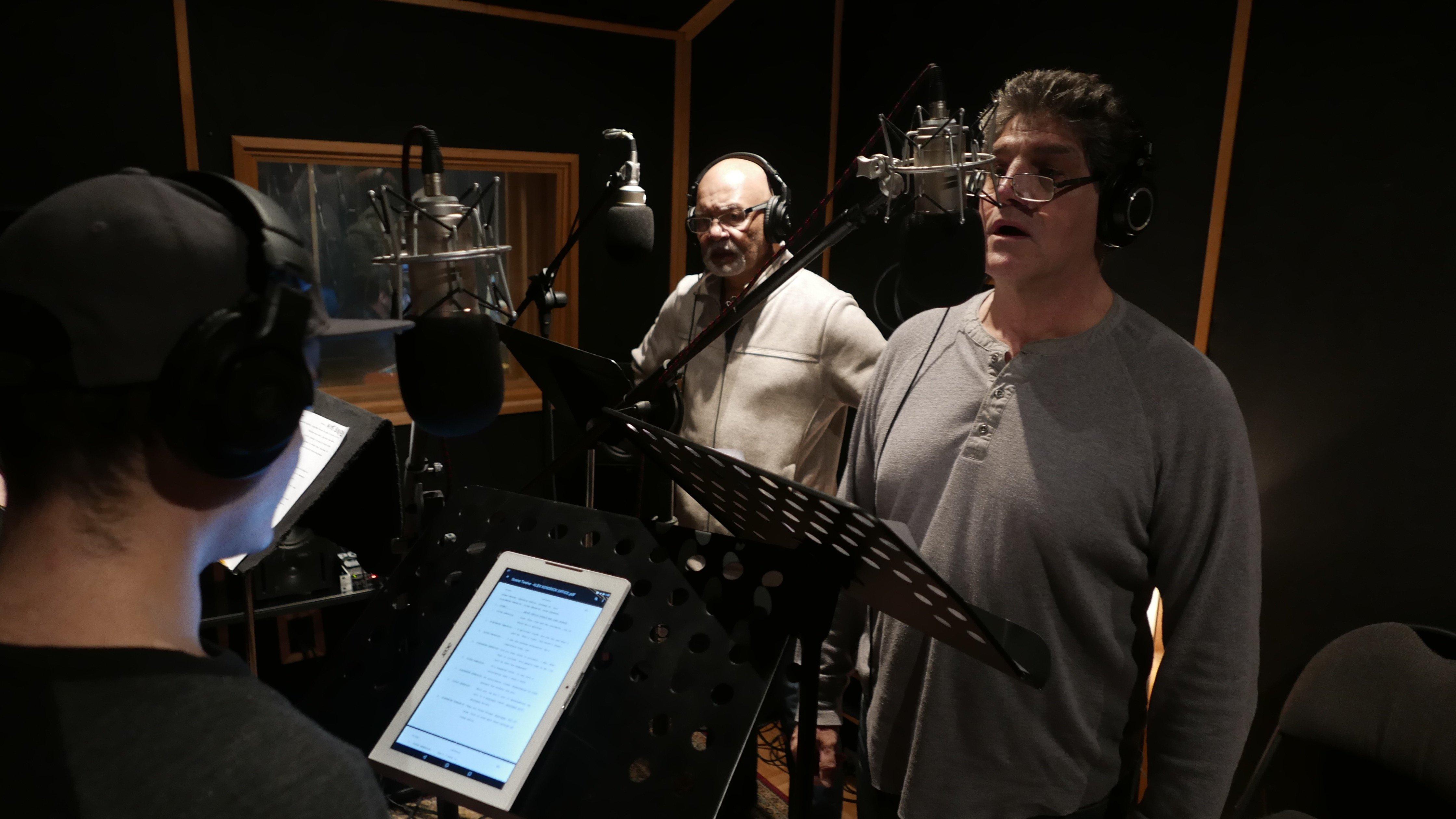 Bitter Air, Recording Studio Image, February 2017.